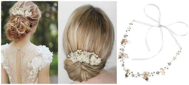 Wedding hair accessories  Confetti.co.uk
