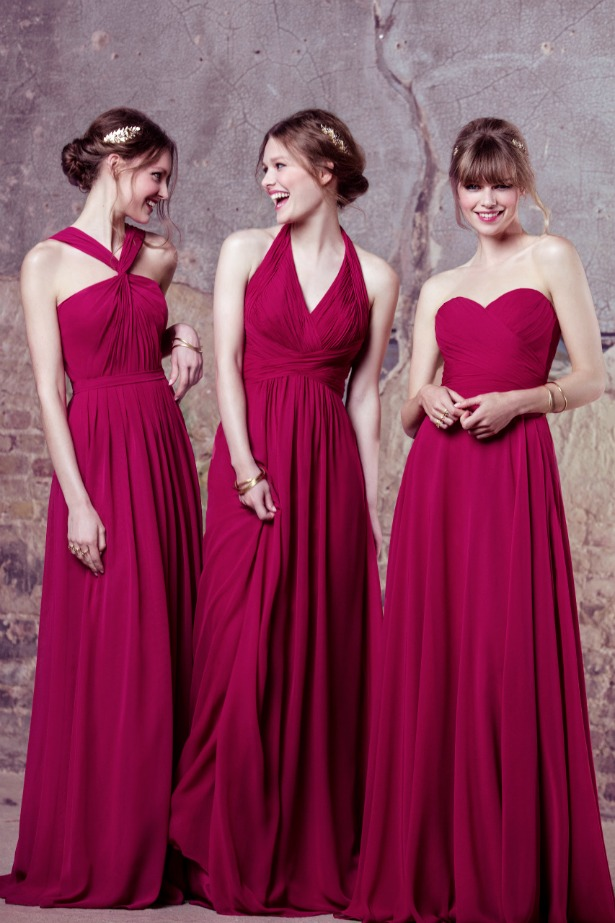 New kelsey rose bridesmaid dresses for 2017 for Rose pink wedding dress