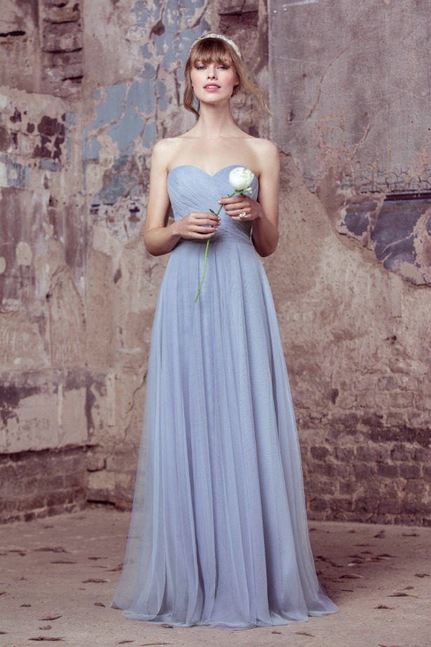 Kelsey Rose light blue bridesmaids dresses | Confetti.co.uk
