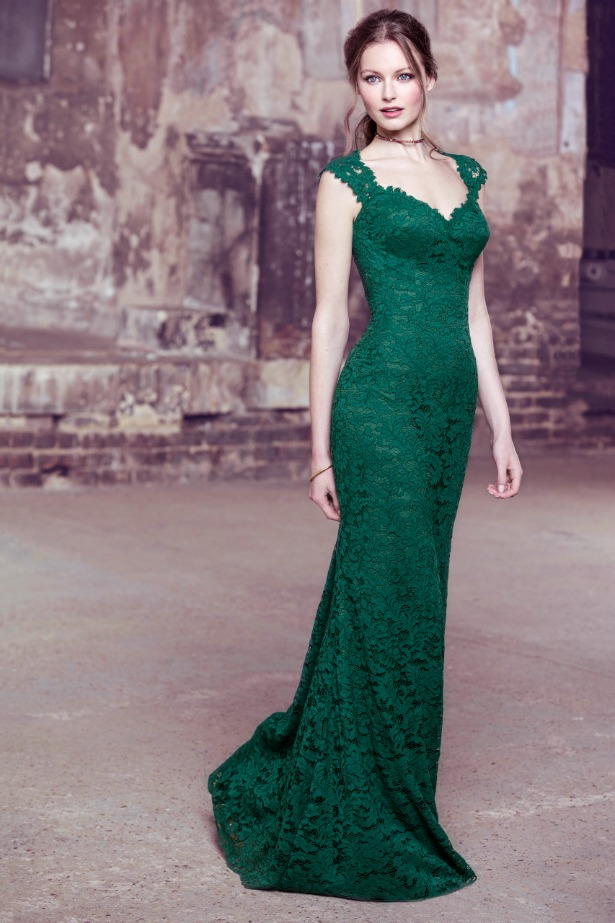 Kelsey Rose green bridesmaid dress | Confetti.co.uk