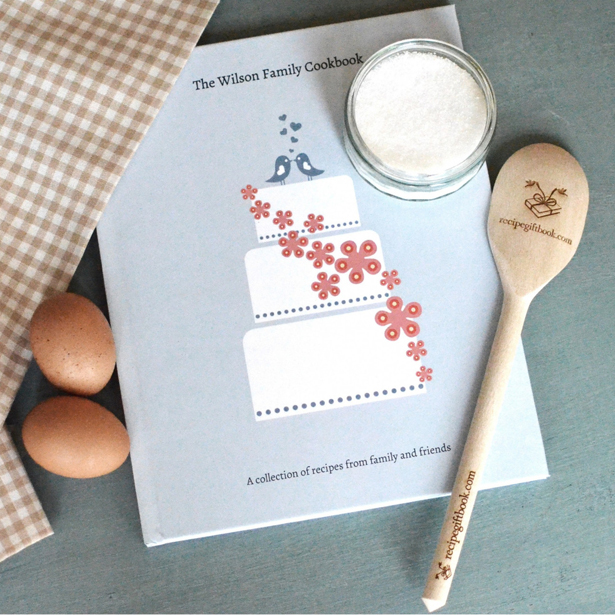 Recipe Gift Book Classic Design | Confetti.co.uk