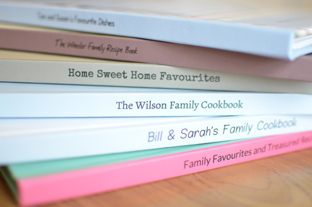 Recipe Gift Books | Confetti.co.uk