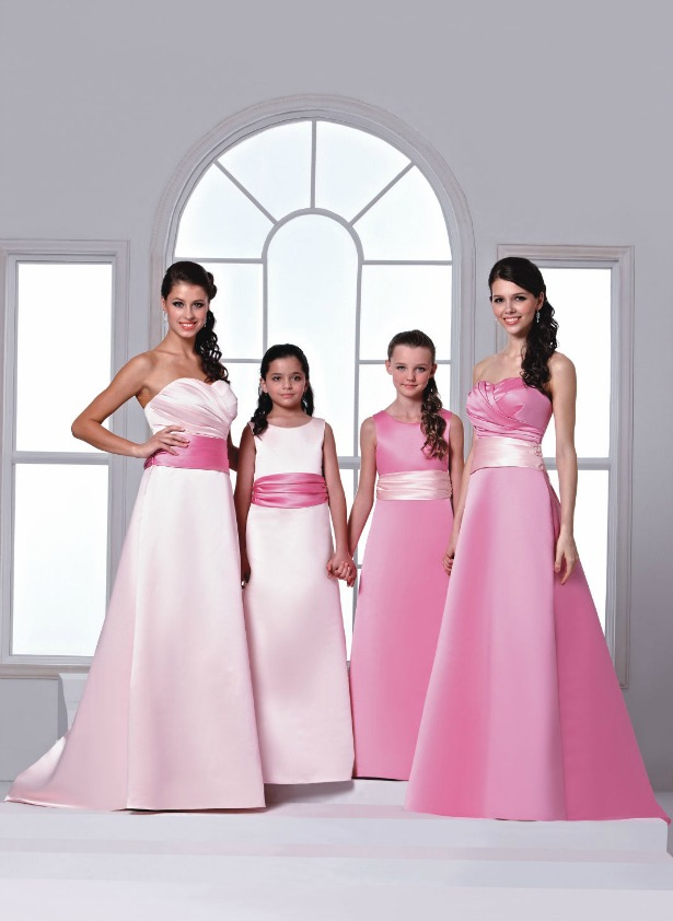 Veromia Bridesmaid dresses in styles DAB11254 and DAF21251 | Confetti.co.uk
