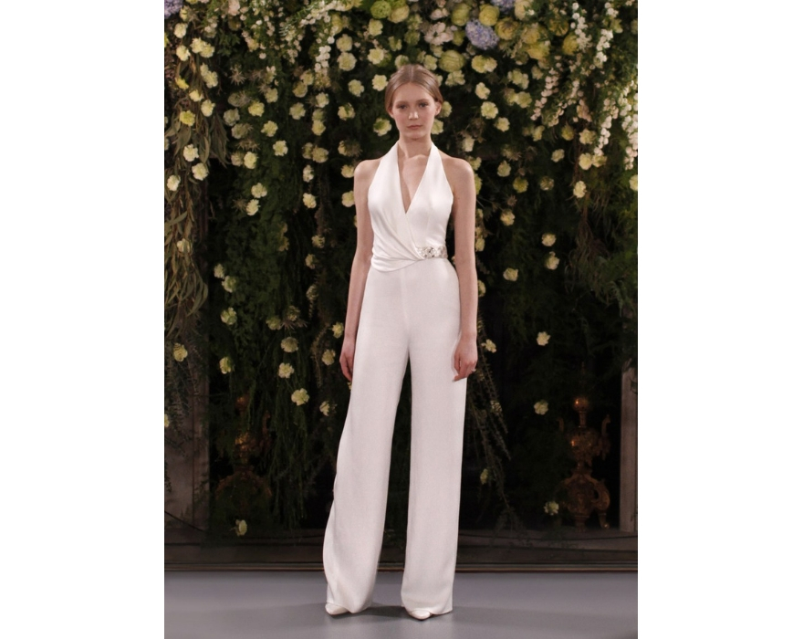 bridal jumpsuit by jenny packham