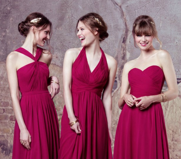 Kelsey Rose Bridesmaid Dresses in Pink | Confetti.co.uk