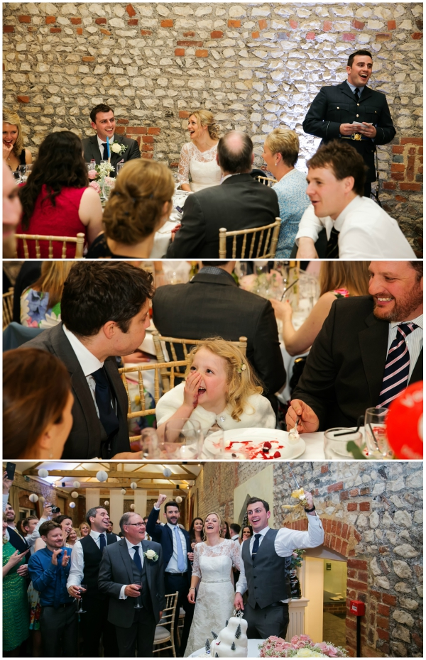 Guests Having Fun And Enjoying The Reception | Confetti.co.uk