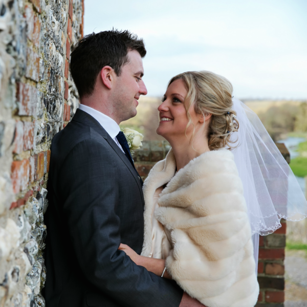 Vicky And Eliots Real Ski Themed Winter Wedding