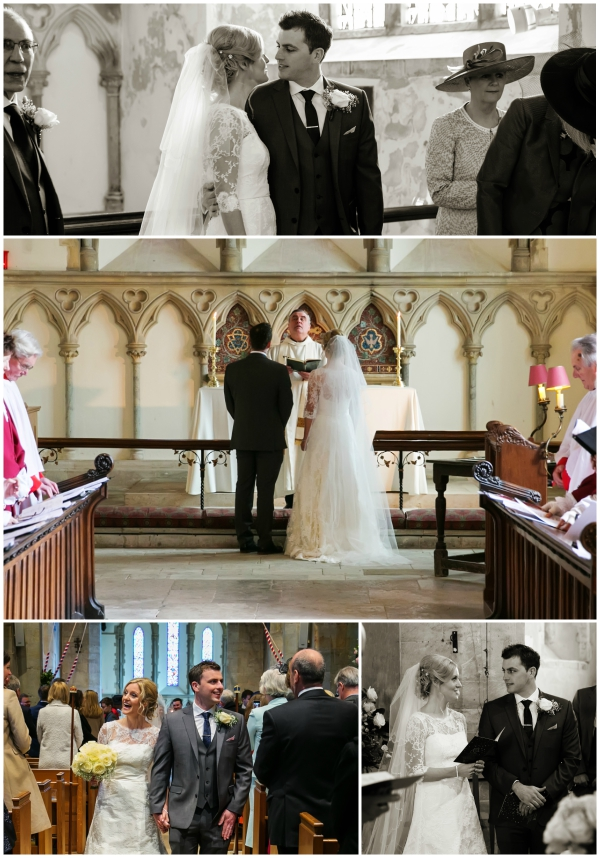 Newlywed Bride And Groom Leave The Church | Confetti.co.uk