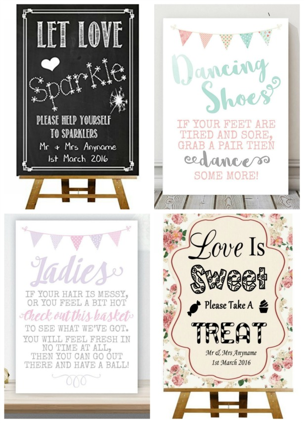 Signs banners and bunting | Confetti.co.uk
