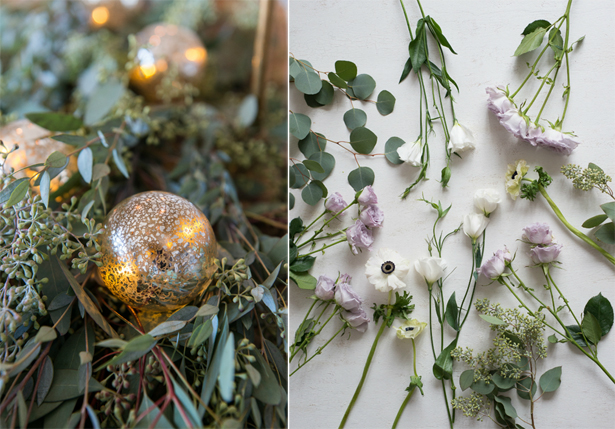 Christmas Lights and Flowers | Confetti.co.uk