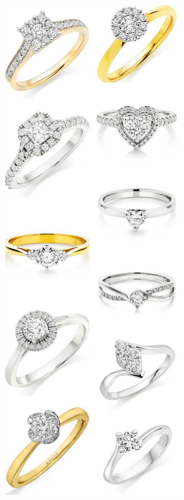 Engagement rings by Beaverbooks and Fraser Hart   Confetti.co.uk