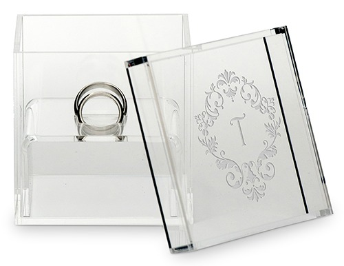 Personalised wedding ring box | Confetti.co.uk