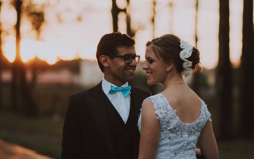 Wedding traditions and superstitions: Something blue
