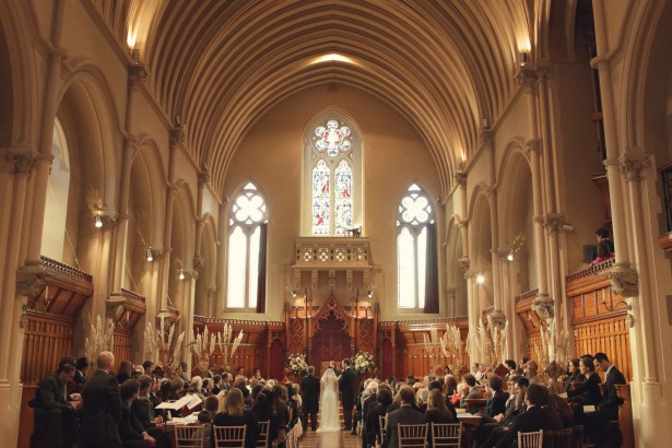 Ceremony at Stanbrook Abbey an ideal venue for second weddings   Confetti.co.uk