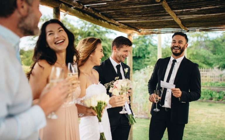 Wedding Speeches who says what