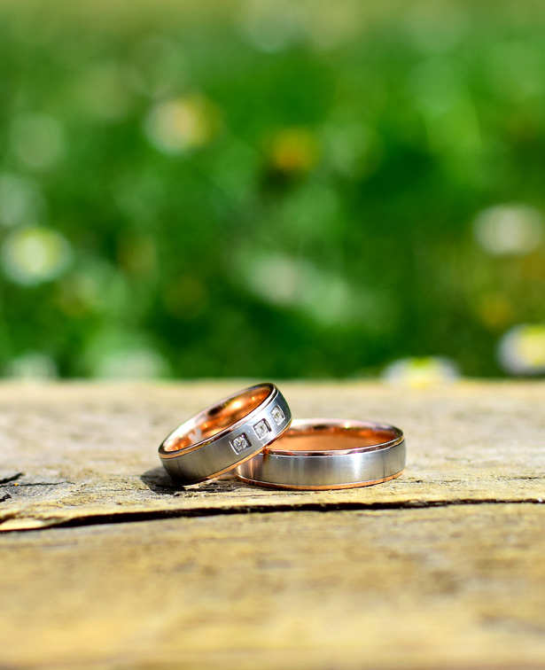 Wedding Rings in the woods by Woodland Trust   Confetti.co.uk