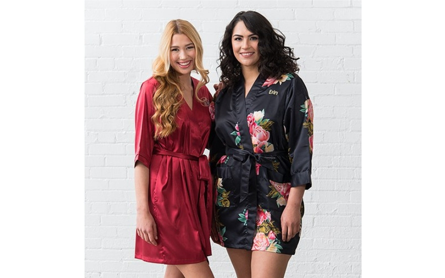 Matching robes Galentine's Day gift idea