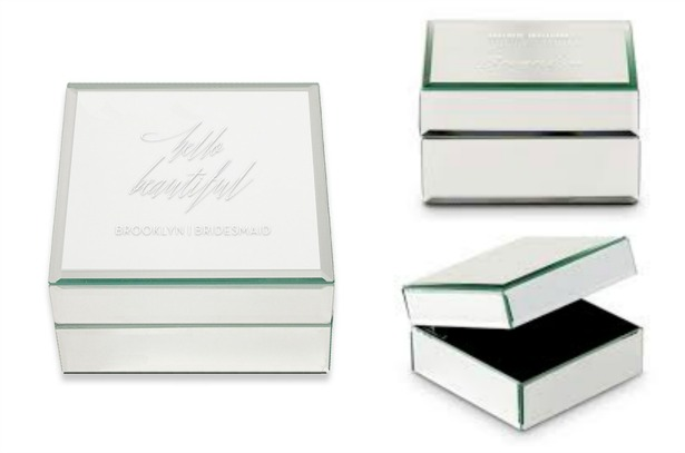Engraved jewellery box | Confetti.co.uk