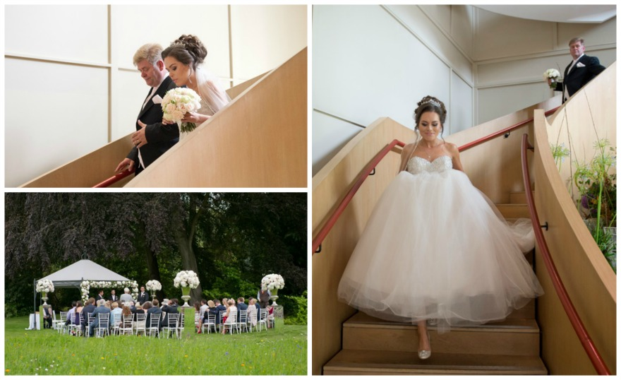 Charlotte and Spiro's Contemporary Alfresco Wedding by Fabulous Wedding Photography | Confetti.co.uk