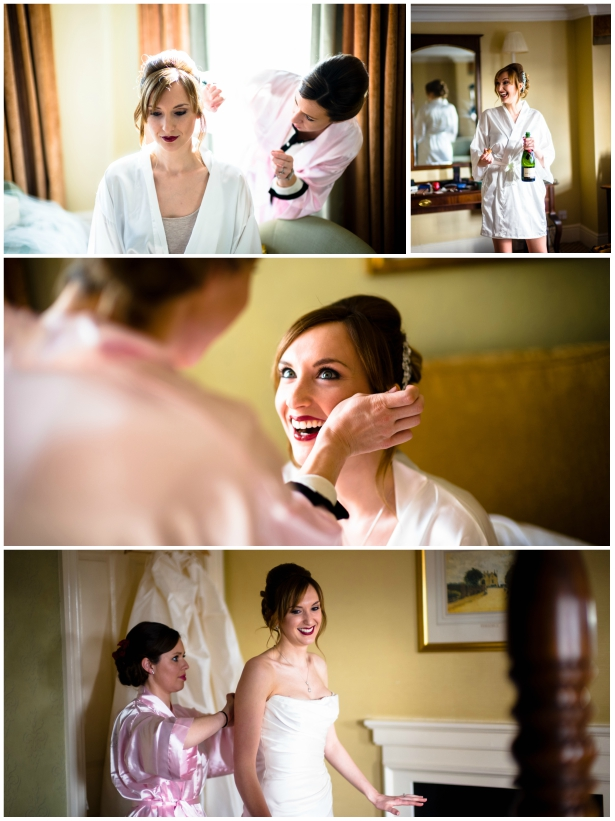 Bride Getting Ready With Her Bridesmaids | Confetti.co.uk