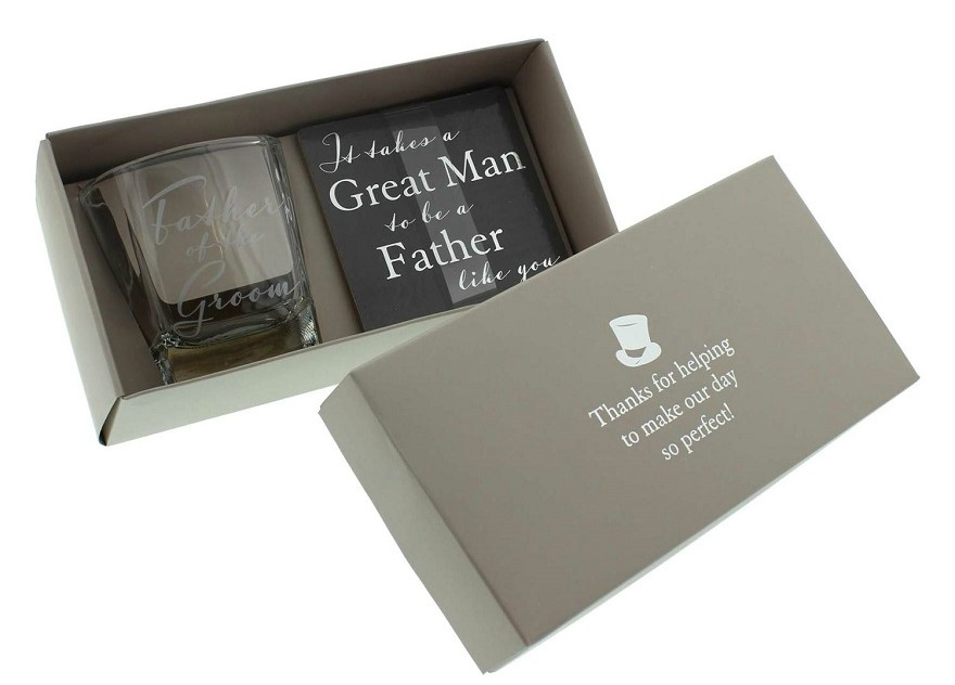 Father Of The Bride Whiskey Glass