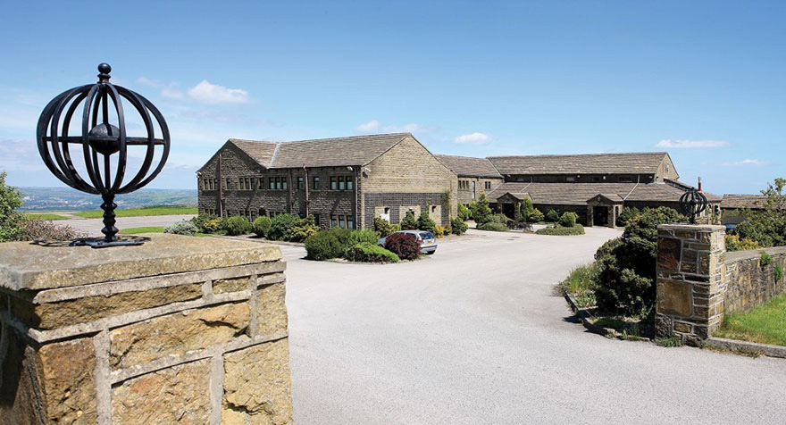Pennine Manor Exterior with Panoramic Views Over The West Yorkshire Countryside and Pennines | Confetti.co.uk