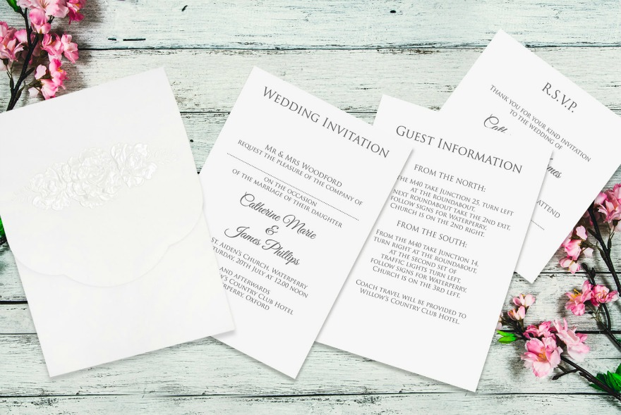 Wedding stationery by Paper Themes | Confetti.co.uk