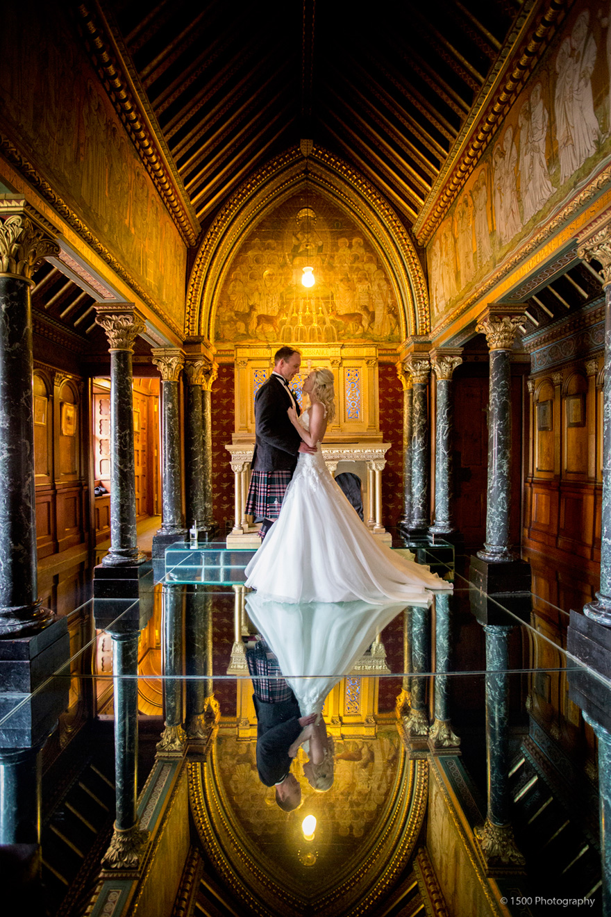 Burges Chapel Visual Arts Installation Mirrored Floor Popular For Wedding Photos by 1500photography