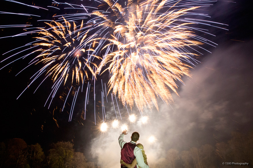 Front Lawn – Fireworks permitted at Mount Stuart by 1500photography