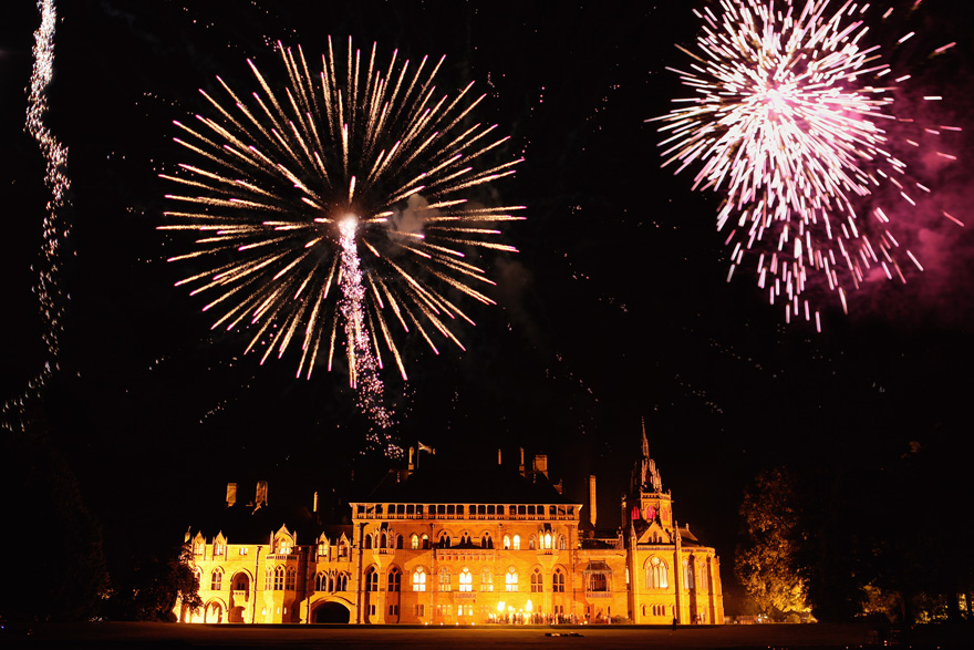 Mount Stuart House Front Lawn – Fireworks permitted at Mount Stuart by craigsandersphotography