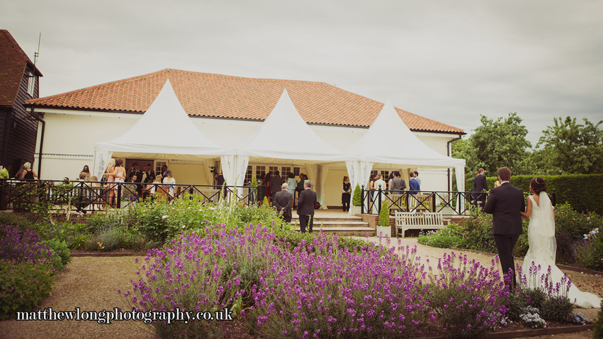 The Coach House Flowers and Chinese Hat Marquees by Matthew Long Photography | Confetti.co.uk
