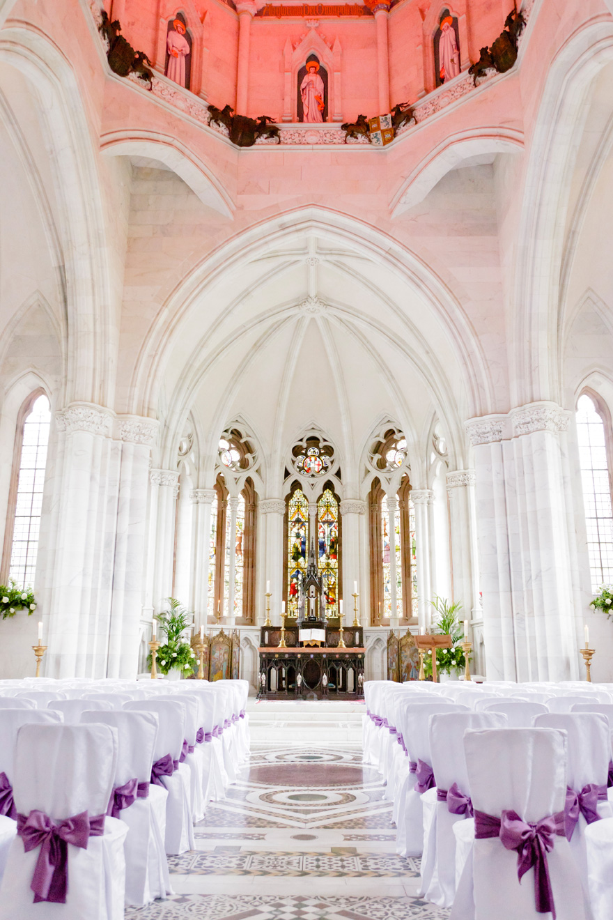 The Grand Marble Chapel Ceremony Space at Mount Stuart