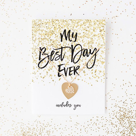 Black and Gold Sparkle Thank You Card With Fold Will You Be My Bridesmaid   Confetti.co.uk