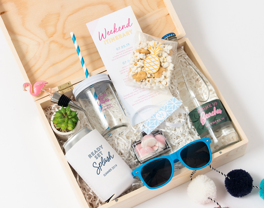 Drinks and Snacks Summer Gift Box   Confetti.co.uk