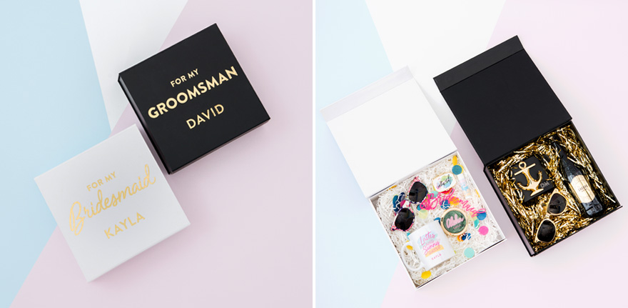 For My Bridesmaid and For My Groomsman Gift Ideas   Confetti.co.uk