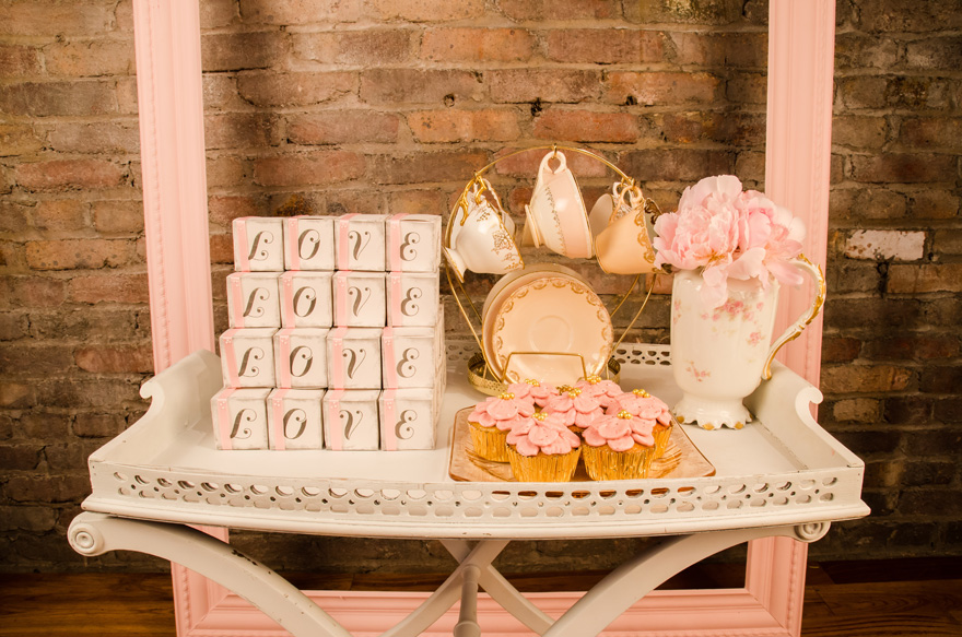 Pink White and Gold Vintage Tea Party Afternoon Tea Party Ideas   Confetti.co.uk