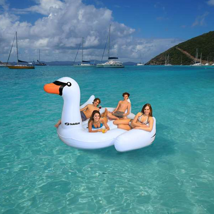 Giant Inflatable Swan Pool Float | Confetti.co.uk