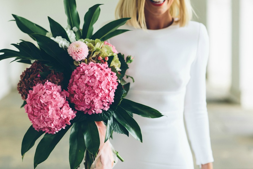 Bouquet from Hiding in the City by Jess Withey Photography   Confetti.co.uk