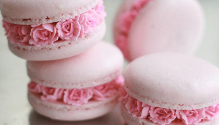 Flower Filled Macarons by Ayse Yaman on Instagram Thumbnail | Confetti.co.uk