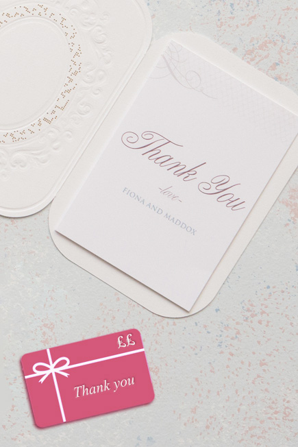 Gift Card Bridesmaid Gift Idea - Contemporary Vintage Pearls And Lace Laser Embossed Accessory Cards With Personalisation | Confetti.co.uk