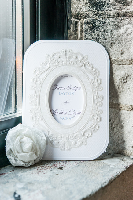 Pearls And Lace Ornate Vintage Laser Embossed Wedding Invitations With Personalisation | Confetti.co.uk