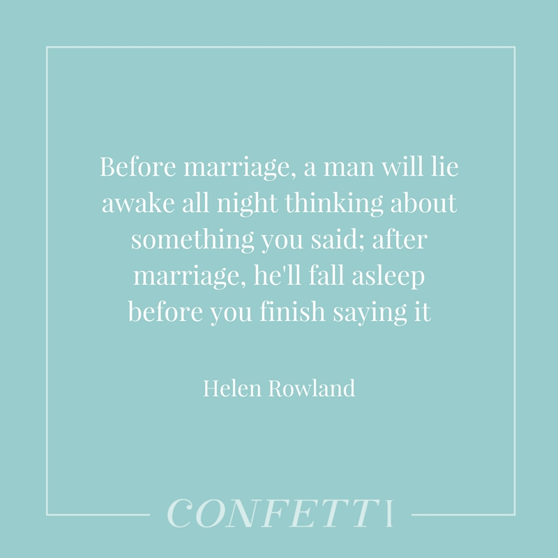 Marriage quote by Helen Rowland