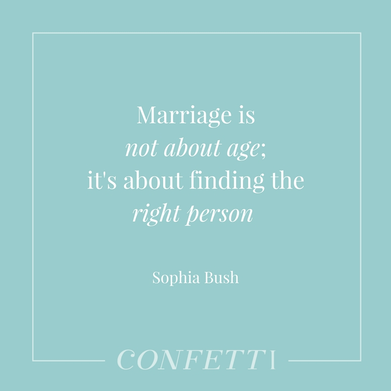 Quote about marriage by Sophia Bush