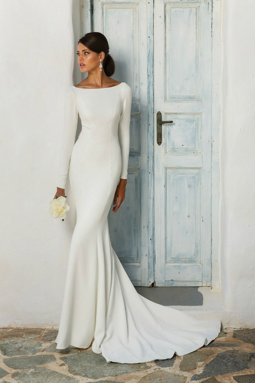 Wedding dresses with sleeves by Justin Alexander | Confetti.co.uk