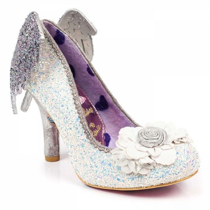 Silver bridesmaid shoes Icarus by Irregular Choice | Confetti.co.uk