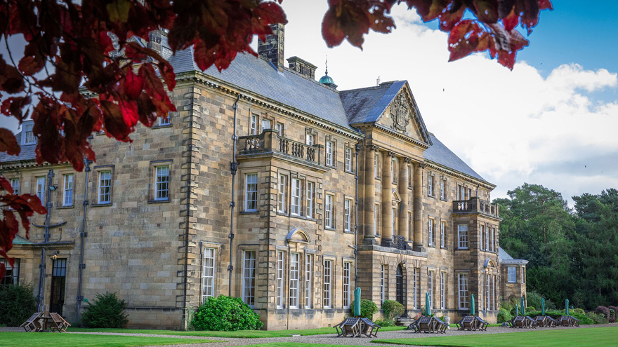 Crathorne Hall Hotel by Jonathan Stockton Photography - Stunning Edwardian Country House in North Yorkshire | Confetti.co.uk