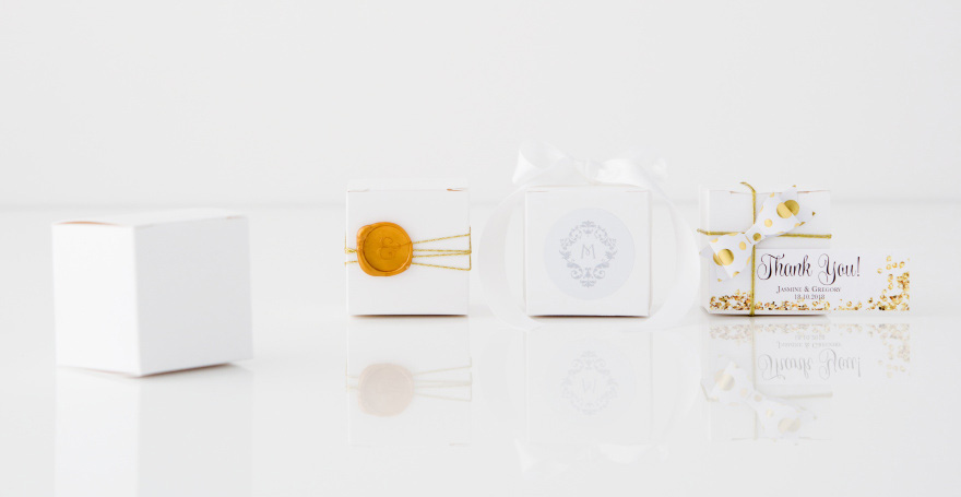DIY Wedding Favour Boxes - Fun Wedding Favour Boxes to Suit All Wedding Styles   Confetti.co.uk