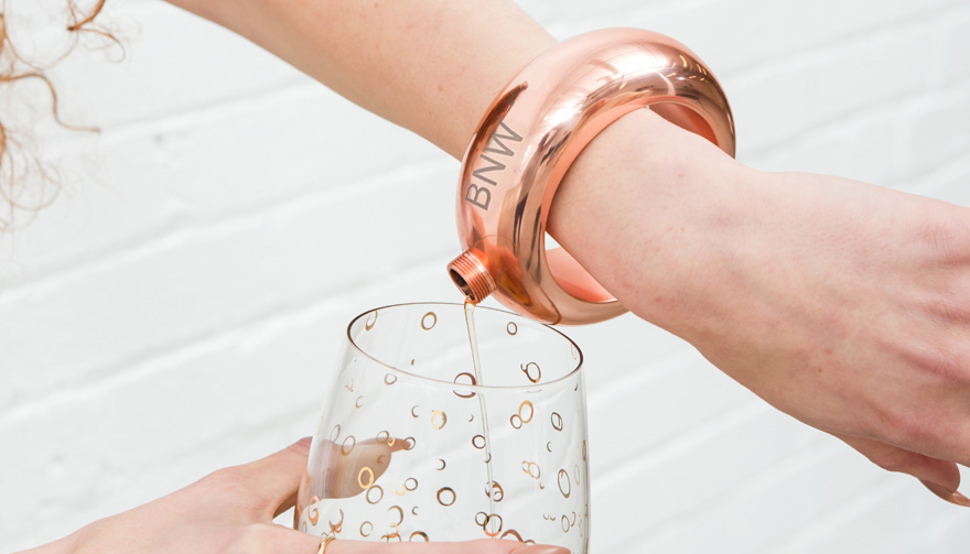 Our Rose Gold Bangle Flask Has Been Featured on ITV's Lorraine Thumbnail | Confetti.co.uk