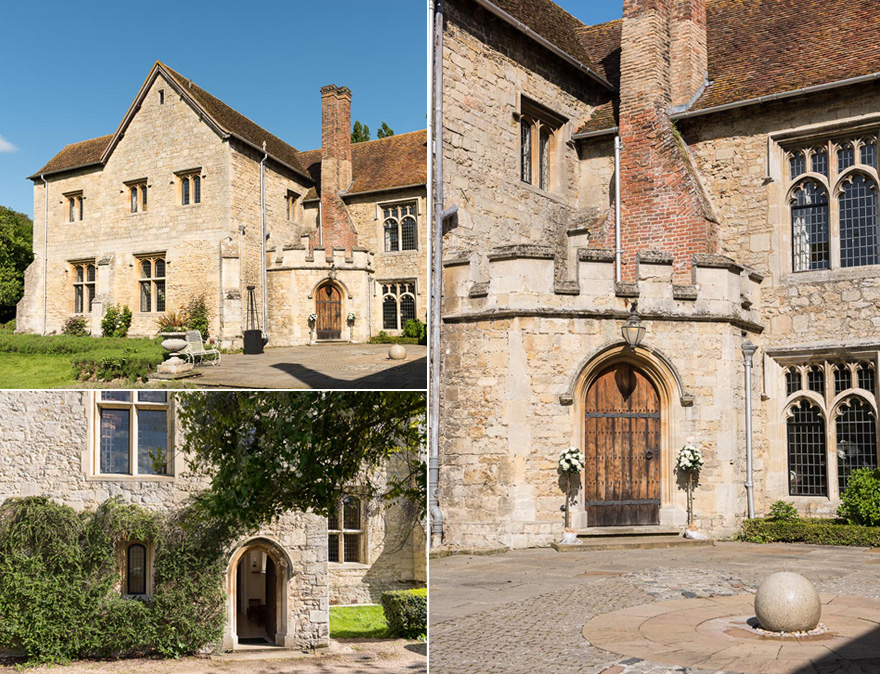 Beautiful Abbey Wedding Venues in the UK - Medieval Wedding Venues - Notley Abbey   Confetti.co.uk