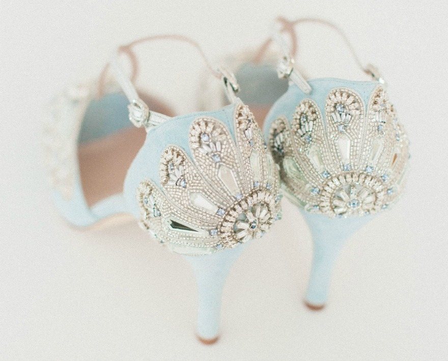 4081884ee84 Blue Wedding Shoes: Your Something Blue - Confetti.co.uk